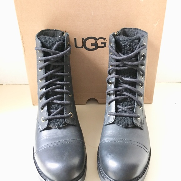 c96a99f02c4 Brand New UGG Women Kilmer Exposed Fur Boots. NWT
